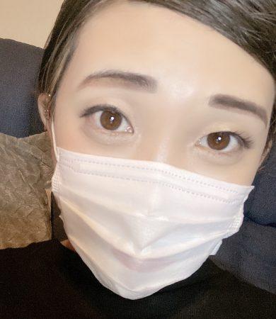 上白石萌音風メイク②